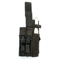 Mobile Infantry Utility Leg Strap with Stunt Knife from Starship Troopers