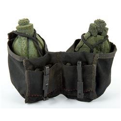 Stunt Rubber Grenades & Pouch from Starship Troopers