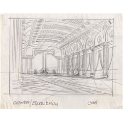 Collection of 10 Production Drawings from Equilibrium