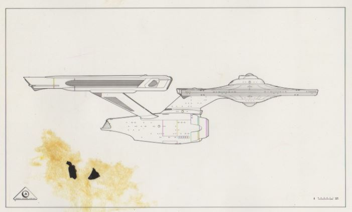 Archive of Storyboards, Transparencies & Photos from Astra Image Corp for  Star Trek TMP