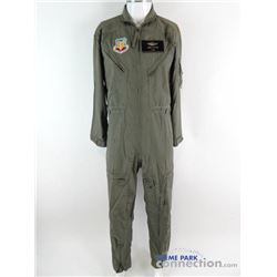 INDEPENDENCE DAY 1996 Movie Production Used USAF Flight Jumpsuit Wardrobe PROP