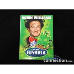 Disney FLUBBER ROBIN WILLIAMS CHRISTOPHER MCDONALD Signed Autograph Press Kit
