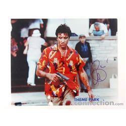 SCARFACE 1983 Movie Actor AL PACINO Tony Montana Signed Autograph Photograph