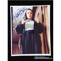 MISERY 1990 Horror Movie Actress KATHY BATES Annie Wilkes Signed Autograph Photo