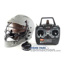 After Earth 2013 Movie United Ranger Cadet Production Used Remote Control PROP Helmet