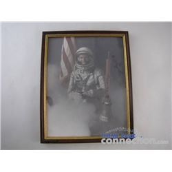 MEN IN BLACK 2 Movie Authentic Production Used Framed Astronaut Gordon Cooper Photo PROP