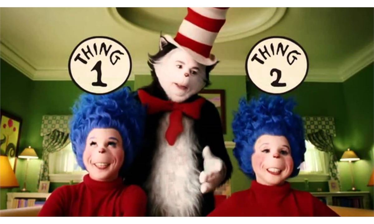 Dr Seuss Cat In The Hat 2003 Movie Thing 1 And 2 Instant Havoc Prop