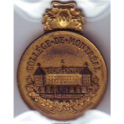 Leroux # 1220, Collège de Montréal, 1767 - 1885, AU to UNC.