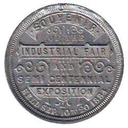 Leroux # 1509, Toronto Industrial Exhibition, Souvenir of the Industrial Fair & Semi Centennial Expo