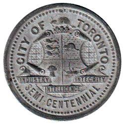 Leroux # 1819, Toronto Industrial Exhibition, Souvenir of the Toronto Semi Centennial Exposition Jun