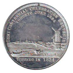 Leroux # 1820, Toronto Industrial Exhibition, Souvenir of the Toronto Semi Centennial Exposition Jun