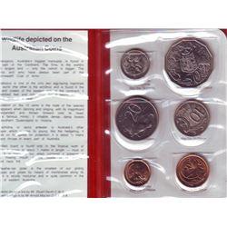 Australia Mint Set 1983 in Red booklet.