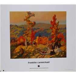 Autumn in the Northland by Franklin Carmichael Print