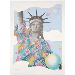 Barbara Cesery Artist's Proof Liberty Series #4 Print
