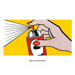Roy Lichtenstein Spray 1952 Art Print