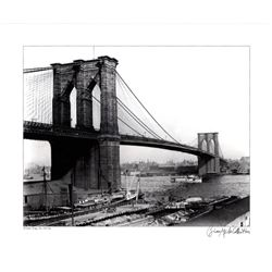 Brian Merlis Brooklyn Bridge New York 1910 Giclee