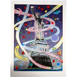 Barbara Cesery Artist's Proof Liberty Series #6 Print