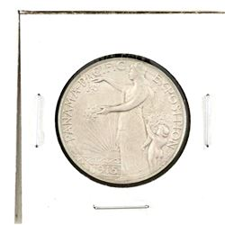 United States 1915S Panama Pacific Expo Half Dollar; Extra Fine