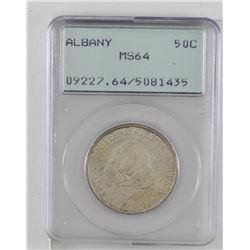 United States 1936 Albany half dollar PCGS MS64.