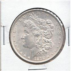 United States Morgan $1 1878 7 Feathers 3rd Reverse in Uncirculated condition.