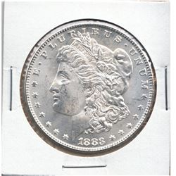 United States Morgan $1 1883 Choice BU condition. A blast white coin with amazing cartwheel Luster.