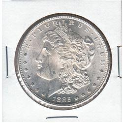 United States Morgan $1 1885-S in Brilliant Uncirculated condition.