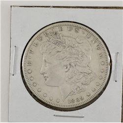 United States 1889CC Morgan ; Extra Fine