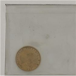 $2 Gold 1882H Newfoundland  VF-EF condition
