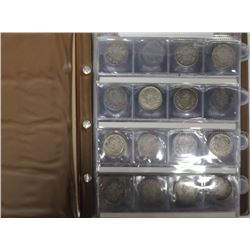 50-cent Lot of Canada silver 50cts 1903 to 1967. Highlights included 1911, 1914, 2x1931, 1932, 2x194