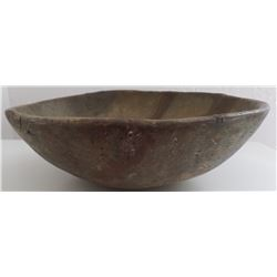 Rare Early Historic San Diego County Indian Oak Bowl
