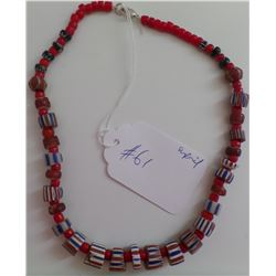 Antique Trade Beads Necklace
