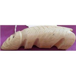 Eskimo Bone Effigy Carving