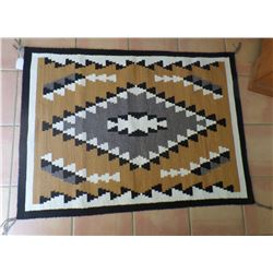 Two Grey Hill Authentic Navajo Weaving