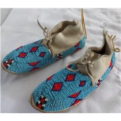 Authentic Cheyenne Childs Moccasins