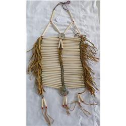 Authentic Bone Breastplate w/Shell Adornment