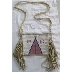 Authentic Sioux Beaded Shoulder Bag
