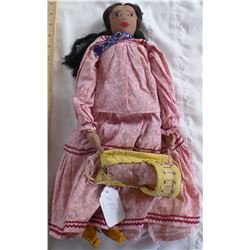 Authentic Large Apache Doll