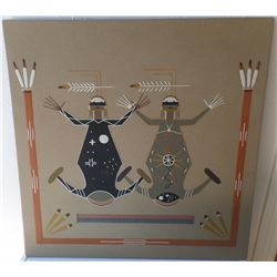 Authentic Navajo Sand Painting