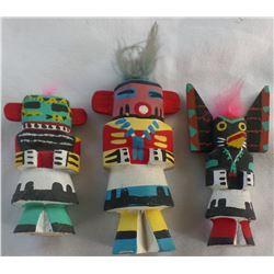 Authentic Hopi Kachinas