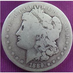 Antique Morgan Silver Dollar