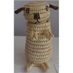 Effigy Papago SW Lamb Basket