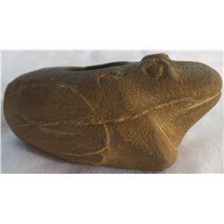Sandstone Frog Pipe