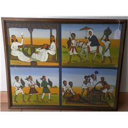Authentic African Painting