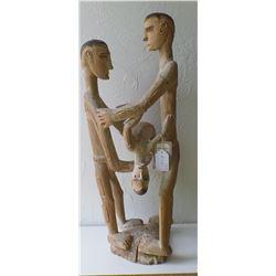 Asmat Ancestral Figural Carving