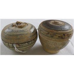 Two Ancient Thai Trade Ceramics
