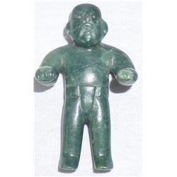 Pre-Columbian Olmec Jade Man