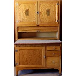 Antique sellers kitchen cabinet with tambor