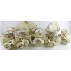 130 piece set Ducal Florentine Rosalie china