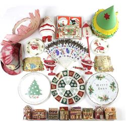 Large collection of holiday items includes