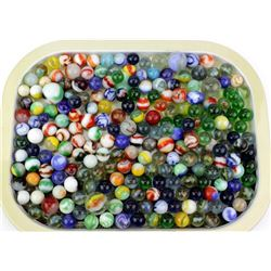 Large collection of old marbles.